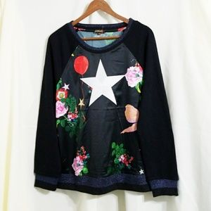 Rowley Love Kit star sweater floral kitsch bow Med